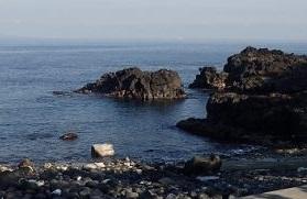 5/11(土)今日も穏やかな海が続いています
