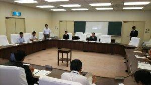 6/28(金)東伊豆町で水難事故対策会議