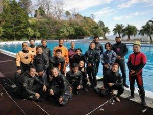 11/20(水)潜水捜索訓練に参加しました