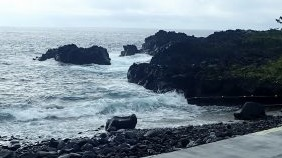 9/6(日)台風のうねりで海洋公園はクローズです